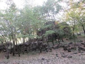 Mont de Roda. Antiguos apriscos