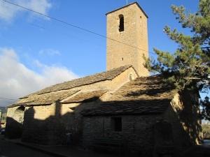 Arcusa. San Esteban