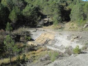 Camino de Arcusa. Barranco de Peña Cingla