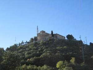 Monasterio de El Pueyo. Camino de El Almerge