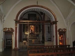 Monasterio de El Pueyo. Interior del templo