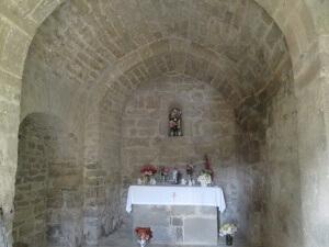 Luzás. Interior de Santa María