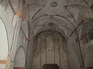 San Lorenzo. Interior de la iglesia parroquial