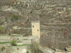 Montañana. Torre de la cárcel