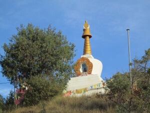 Estupa. Templo Budista de Panillo