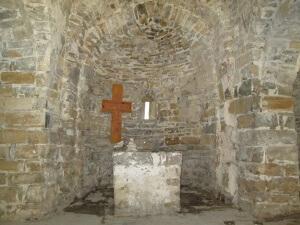 Pano. Interior ermita de San Antón