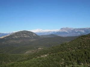 Tozal de Palo. Peña Montañesa y Monte Perdido
