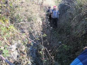 Camino de subida a Trillo