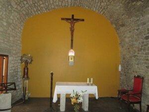 Ejep (Ixep). Interior iglesia de San Pedro