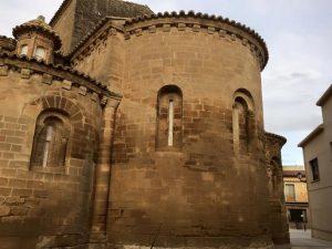 Berbegal. Ábsides Santa María La Blanca