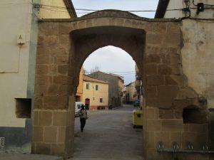Berbegal. Arco del Hospital