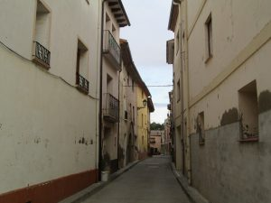 Berbegal. Calle del pueblo