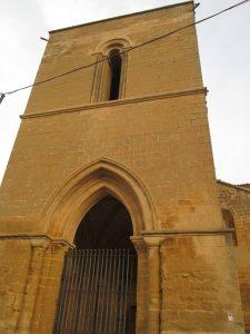 Berbegal. Torre-puerta Santa María La Blanca