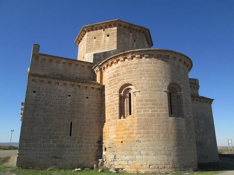 Ábside de Santa María de Chalamera