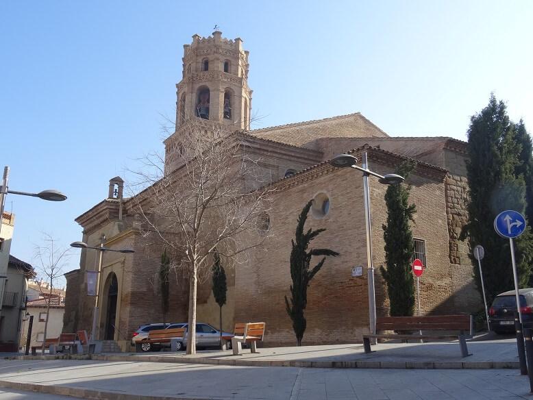 Monzón. Santa María del Romeral