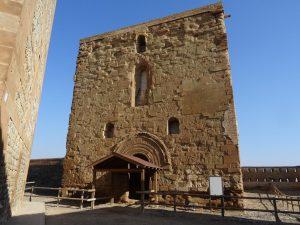 Castillo de Monzón. Templo