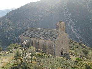 La Puebla de Castro. Ermita de San Román de Castro