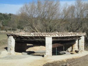 La Puebla de Castro. Lavadero La Huerta