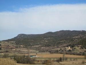 La Puebla de Castro. Llanos de la Casa Peralta