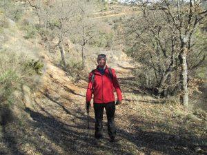 Camino de Graus. En el barranco Esguarz