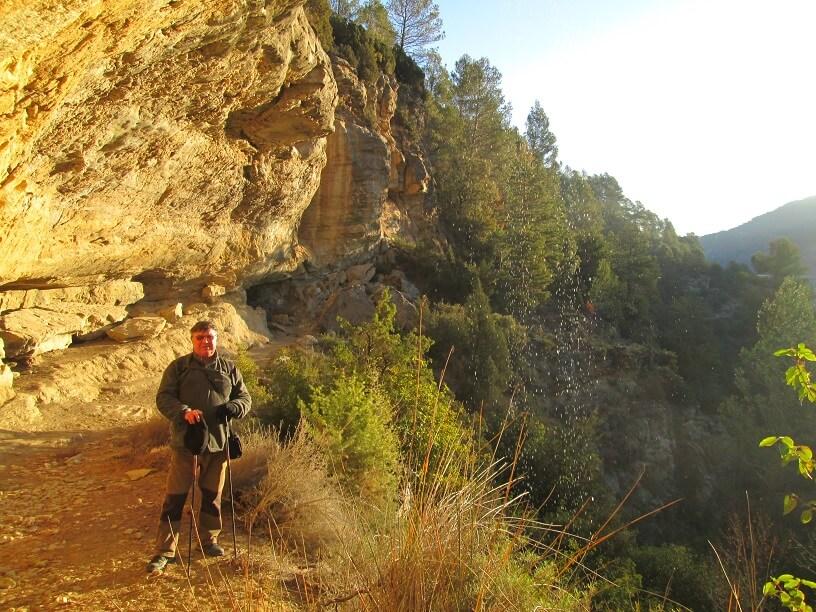 La Cueva. Subiendo a Caballera