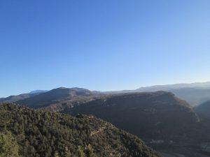 Montes de Aguilar. Subiendo a Caballera