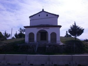 Ermita de San Roque. La Puebla de Castro