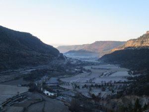 Santaliestra. Valle del Ésera