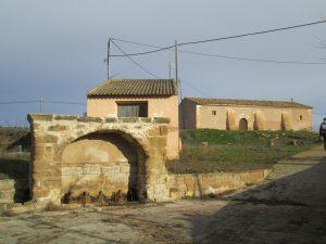 Berbegal. Fuente y ermita de San Gregorio