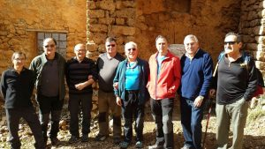 Foto de grupo en la ermita de San Martín