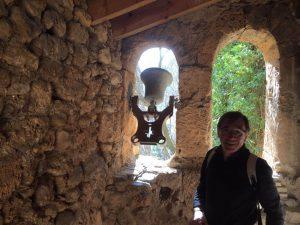 Ermita de San Martín. Joaquín tocando la campana