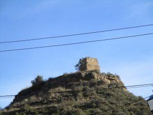 Caladrones, ruinas de su castillo