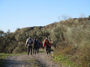 Grupo camino de Estiche de Cinca