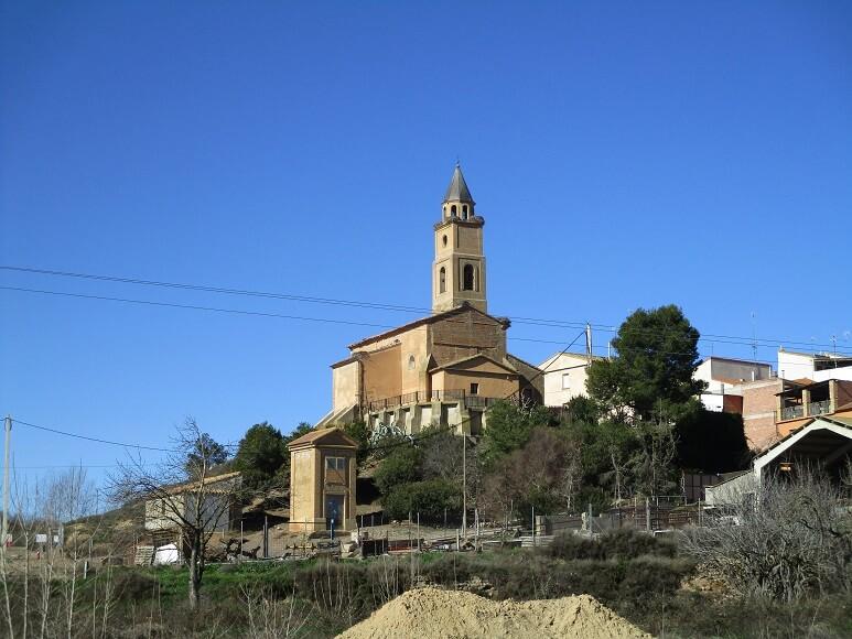 Santalecina. Iglesia parroquial del Salvador