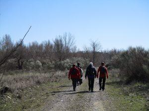 Caminando por los sotos del río Cinca