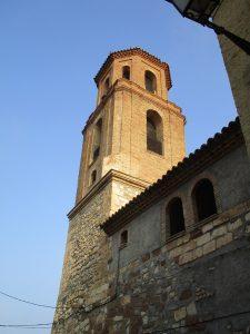 Baldellou. Torre iglesia de la Asunción de Santa María