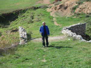 En el Puente de Coll. Castillonroy
