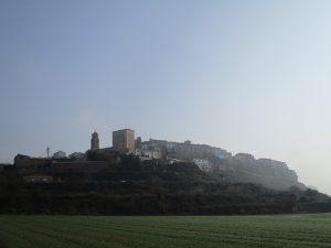 Una vista de Baldellou, camino Castillonroy