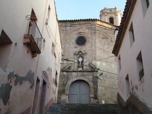 Peralta de la Sal. Iglesia parroquial