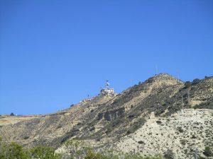 San Caprasio, en lo más alto