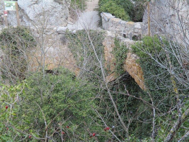 Gabasa. Puente de La Paúl o de la Foz