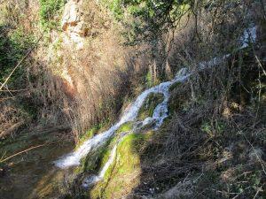 Barranco de Gabasa. Saltos de agua