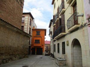 El Grado. Interior del casco urbano