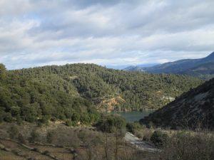 Río Llastre. Pantano de El Grado
