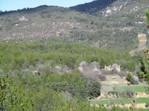 Aldea de Rosico. En ruinas