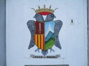 Escudo de la Villa de Naval