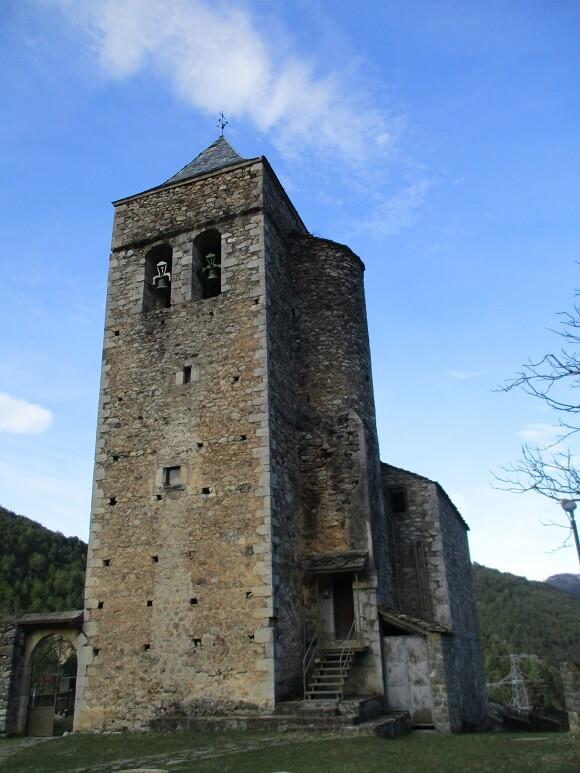 Badaín. Santa María