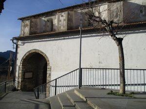 Laspuña. Iglesia Virgen de los Dolores