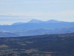 Sierra de Guara desde el Montsec