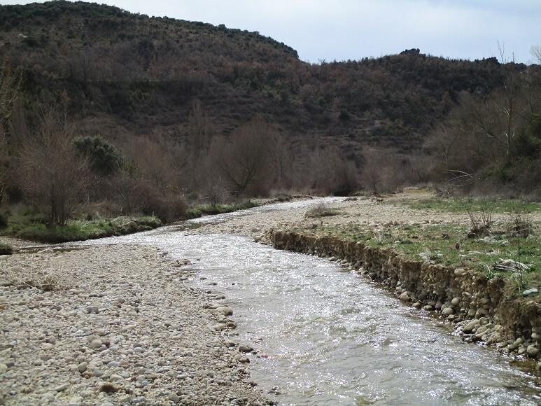 Cauce del río Cajigar